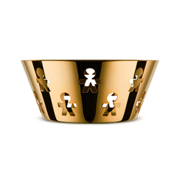 Alessi KK04 - Cestino Gold