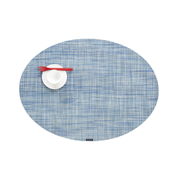 Chilewich Mini Basketweave Placemat Oval