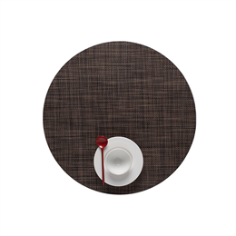Chilewich Mini Basketweave Placemat Round