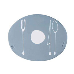 Fish Design Tablemates Gray