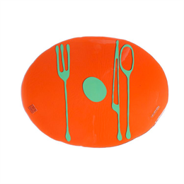 Fish Design Tablemates Orange