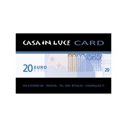 Tessera Regalo - € 020