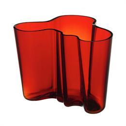 Iittala Aalto Vase 160 Red