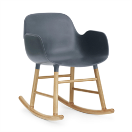 Normann Copenhagen Form Rocking Armchair Oak
