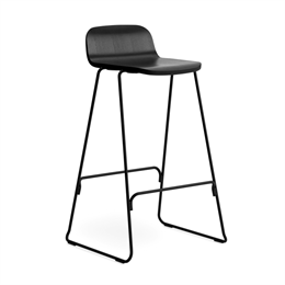 Normann Copenhagen Just Barstool Back