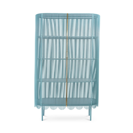 Scarlet Splendour Strings Cabinet Blue