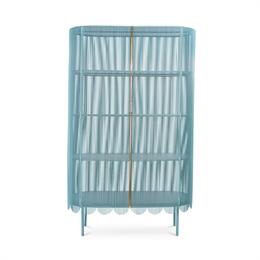 Scarlet Splendour Strings Cabinet Blue