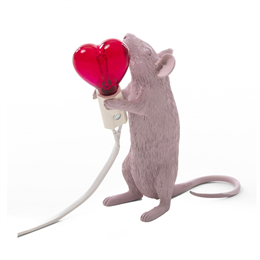 Seletti Mouse Lamp Heart