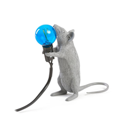 Seletti Mouse Lamp Gray 1 - Limited Edition