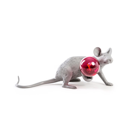 Seletti Mouse Lamp Gray 3 - Limited Edition