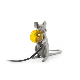 Seletti Mouse Lamp Gray 2 - Limited Edition