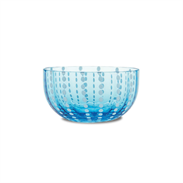 Zafferano Perle Bowl Aquamarine
