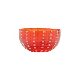 Zafferano Perle Bowl Red