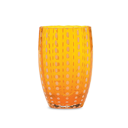 Zafferano Perle Tumbler Orange