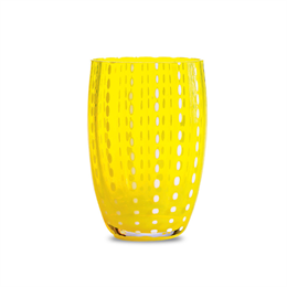 Zafferano Perle Tumbler Yellow